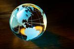 Сlipart Globe Backgrounds Earth Black Blue photo  BillionPhotos