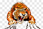Сlipart Tiger Claw Paw Mascot Vector vector cut out BillionPhotos