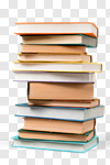 Сlipart book stack literature isolated heap photo cut out BillionPhotos