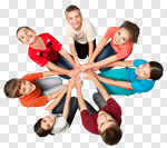 Сlipart Child Group Of People Human Hand Cheerful Childhood photo cut out BillionPhotos