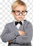 Сlipart teacher child kid retro professor photo cut out BillionPhotos