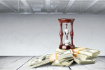 Сlipart Currency Time Hourglass Savings Loss   BillionPhotos