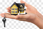 Сlipart House Home Interior Residential Structure Real Estate Human Hand photo cut out BillionPhotos
