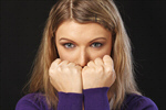 Сlipart Fear Anxiety Terrified Women Worried photo  BillionPhotos