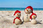 Сlipart snowman beach summer children travel photo  BillionPhotos