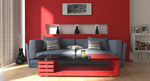 Сlipart Living Room Contemporary Domestic Room Indoors Lifestyles 3d  BillionPhotos