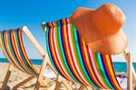 Сlipart deck beach chair uk blue photo  BillionPhotos