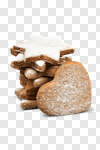 Сlipart holiday cinnamon ginger sugar heart photo cut out BillionPhotos