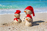 Сlipart snowman beach summer children travel photo  BillionPhotos