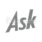 Сlipart ask ask.com Sharing Social Media social button vector icon cut out BillionPhotos