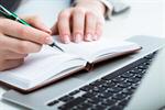 Сlipart writer red pen writing speech photo  BillionPhotos