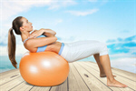 Сlipart Pilates Fitness Ball Exercising Ball Sport   BillionPhotos