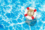 Сlipart pool water ring float yellow   BillionPhotos
