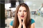 Сlipart shocked women face girl eyes   BillionPhotos