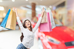 Сlipart woman shoping card credit pay mall   BillionPhotos