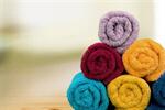 Сlipart Bathroom Towels Laundry Textile Health Spa Rolled Up   BillionPhotos