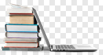 Сlipart Education Book Laptop Computer Stack photo cut out BillionPhotos