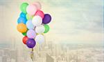 Сlipart balloons bunch isolated decoration fly   BillionPhotos