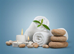 Сlipart Spa Treatment Towel Candle Wellbeing Stone   BillionPhotos