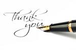 Сlipart Thank You Pen Gratitude Writing Fountain Pen photo  BillionPhotos