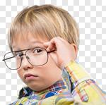 Сlipart kid think maths school mind photo cut out BillionPhotos