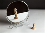 Сlipart Chess in mirror Change Chess Confidence Reflection photo  BillionPhotos