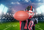 Сlipart Football Player American Football Catching Athlete Running   BillionPhotos