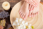 Сlipart salon spa feet care closeup photo  BillionPhotos