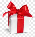 Сlipart gift box bow ribbon present photo cut out BillionPhotos