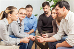 Сlipart group supportive studying holding hands praying photo  BillionPhotos
