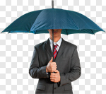 Сlipart Umbrella Rain Men Business Parasol photo cut out BillionPhotos