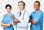 Сlipart Nurse Nursing Home Team Medical Exam Doctor photo cut out BillionPhotos