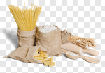 Сlipart pasta flour italian egg wheat photo cut out BillionPhotos