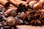 Сlipart Coffee Bean Spice Beige Black filbert photo  BillionPhotos