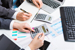 Сlipart accounting accountant cost tax laptop photo  BillionPhotos