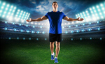 Сlipart soccer player sports kick white   BillionPhotos