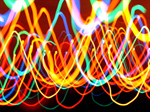 Сlipart Lighting Equipment Light Abstract Single Line Color Image photo  BillionPhotos