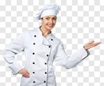 Сlipart Chef Baker Women Chef's Hat Female photo cut out ...