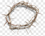 Сlipart Thorn Crown Of Thorns Grief Easter Jesus Christ photo cut out BillionPhotos