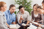 Сlipart group book studying book club sitting photo  BillionPhotos