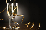 Сlipart new year eve glass toast fun photo  BillionPhotos
