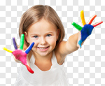Сlipart child paint boy boys finger photo cut out BillionPhotos