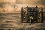 Сlipart lock key chest box ancient photo  BillionPhotos