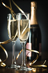 Сlipart new year eve glass toast photo  BillionPhotos