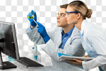Сlipart Laboratory Healthcare And Medicine Research Medical Exam Scientist photo cut out BillionPhotos