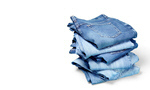 Сlipart Stack jeans on white background Jeans Clothing Denim Stack   BillionPhotos
