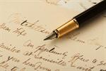 Сlipart Letter Writing Pen Text Old photo  BillionPhotos