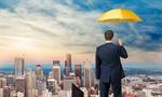Сlipart Business Insurance Umbrella Insurance Agent Red Men   BillionPhotos
