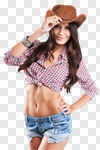 Сlipart rodeo cowboy western cowgirl women photo cut out BillionPhotos