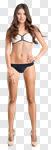 Сlipart model bikini swimsuit white swim photo cut out BillionPhotos
